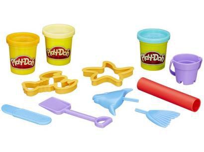 Massinha Play-Doh Beach Creations Bucket - Hasbro