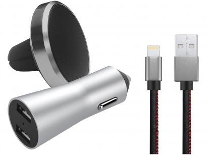 Kit Carregador Veicular para iPhone Geonav - PLI31