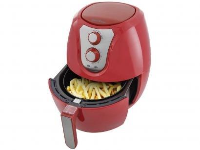 Fritadeira Elétrica Sem Óleo/Air Fryer Britânia - Air Fry Pro Saúde Vermelha...