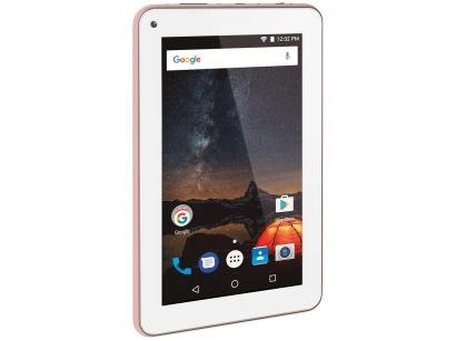"Tablet Multilaser M7S Plus 8GB 7"" Wi-Fi - Android 7.0 Proc. Quad Core Câmera..."