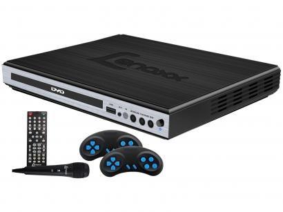 DVD Player Lenoxx DK 420 Função Karaokê - DK 420 Conexão USB Microfone