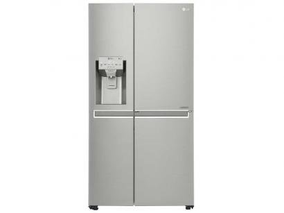 Geladeira/Refrigerador LG Frost Free Side by Side - 601L Painel Touch New...