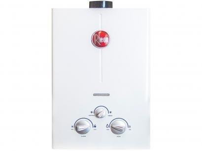 Aquecedor de Água à Gás Rheem Classic - RB3AP07PVPTIN 7 l/min