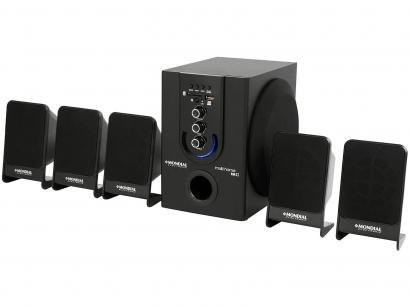 Home Theater Mondial HT-12 Blu-ray - 5.1 Canais 75W RMS USB