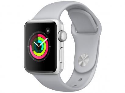 Apple Watch Series 3 38mm Alumínio 8GB Esportiva - Prata GPS Integrado...