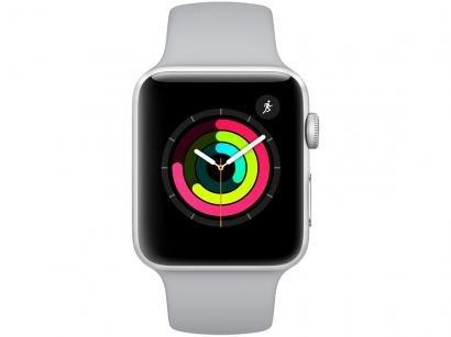 Apple Watch Series 3 42mm Alumínio 8GB Esportiva - Prata GPS Integrado...