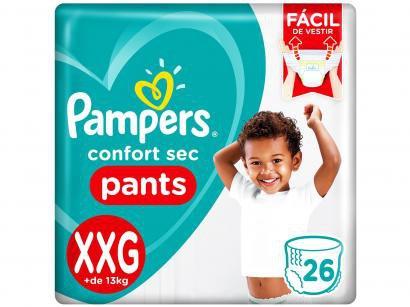 Fraldas Pampers Pants Confort Sec Tam. XXG - 26 Unidades