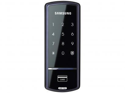 Fechadura Digital de Porta Samsung - SHS-1321 com Cartão RFID com Senha
