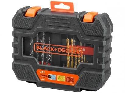 Kit Ferramentas Black&Decker 31 Peças - A7233-XJ com Maleta