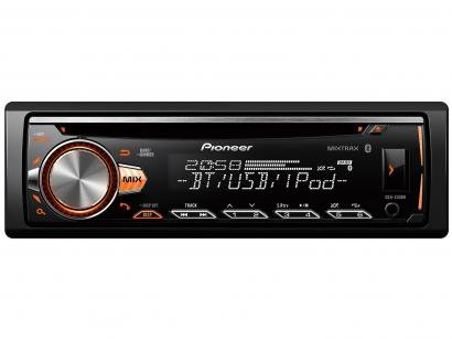 Som Automotivo Pioneer DEH-X50BR - CD Player Bluetooth MP3 Player Rádio AM/FM