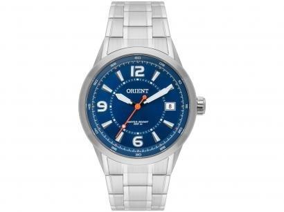 c4178a0284b Relógio Masculino Analógico Orient MBSS1269 D2SX - Prata