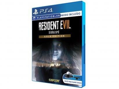 Resident Evil 7 Biohazard Gold Edition para PS4 - Capcom