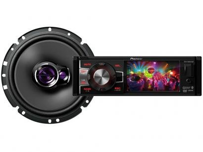 "DVD Automotivo Pioneer DVH-8880AVBT Tela 3,5"" - Bluetooth 92 Watts RMS +..."