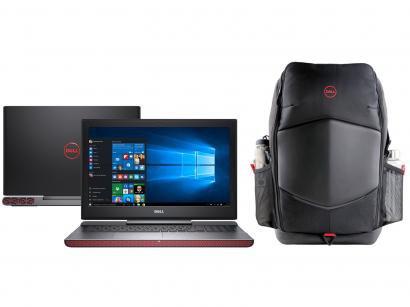 Notebook Gamer Dell Inspiron i15-7567-A30P Intel - Core i7 16GB 1TB + Mochila...