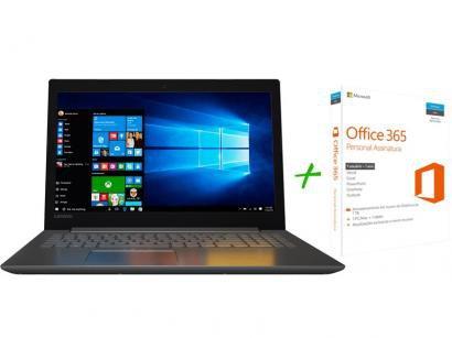 """Notebook Lenovo Ideapad 320 Intel Dual Core 4GB - 1TB LED 15,6"""" Windows 10 +..."""