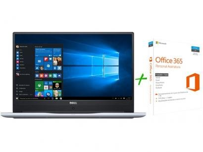 "Notebook Dell Inspiron i15-7560-A10S Intel Core i5 - 8GB 1TB LED 15,6""Windows..."