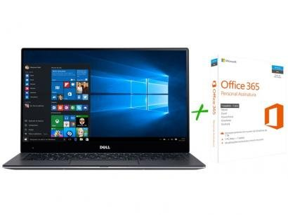 "Notebook Dell XPS13 Intel Core i7 8GB 256GB SSD - LED 13,3"" Windows 10 +..."