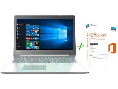 "Notebook Lenovo Ideapad 320 Intel Core i3 4GB 1TB - LED 15,6""Full HD Windows 10..."