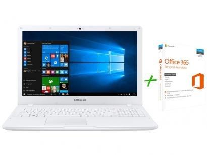 "Notebook Samsung Essentials E21 Intel Dual Core - 4GB 500GB LED 15,6"" Full HD +..."