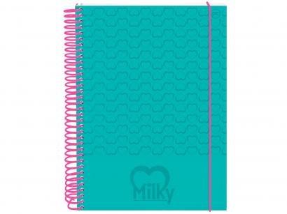 Caderno Espiral 10 Matérias DAC - Milk 2365VD 200 Folhas