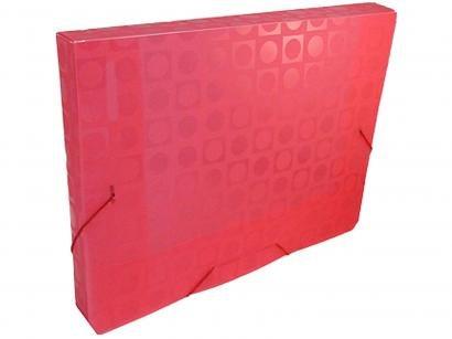 Pasta Aba Elástica Mini 24,5x18,3cm DAC - Vision Vermelho