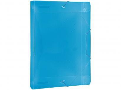Pasta Meio Ofício 24,5x18,3cm com Elástico - DAC Vision Azul