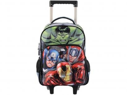 Mochilete com Rodinhas Tam. G Xeryus - Marvel Avengers Elite