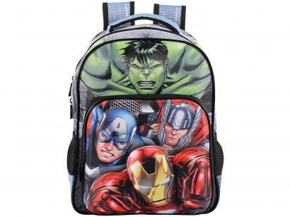 Mochila Infantil Escolar Formato 3D - Tam. M Xeryus Avengers Elite