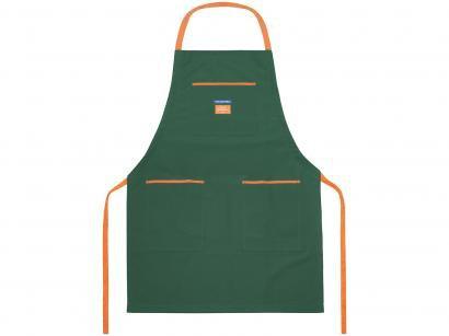 Avental para Jardinagem Tramontina - Sweet Garden 78110001 Verde e Laranja