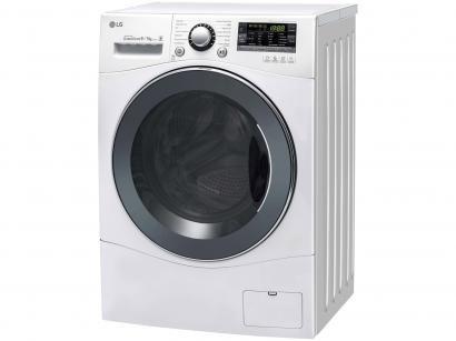 Lava e Seca LG 9kg Branca Prime Touch - 14 Programas de Lavagem Água Quente