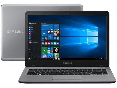 "Notebook Samsung Essentials E25 Intel Dual Core - 4GB 500GB LED 14"" Windows 10"