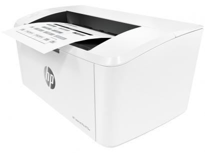 Impressora HP LaserJet Pro M15w - Laser Wi-Fi Preto e Branco USB