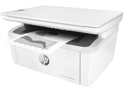 Impressora Multifuncional HP LaserJet Pro M28w - Laser Wi-Fi Preto e Branco USB