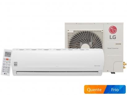 Ar Condicionado Split LG Inverter 31.000 BTUs - Quente/Frio Smart Inverter...