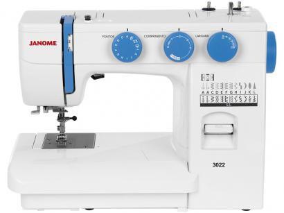 Máquina de Costura Janome 3022 - 22 Pontos