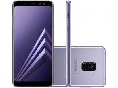 Smartphone Samsung Galaxy A8 64GB Ametista - Dual Chip 4G Câm. 16MP + Selfie...