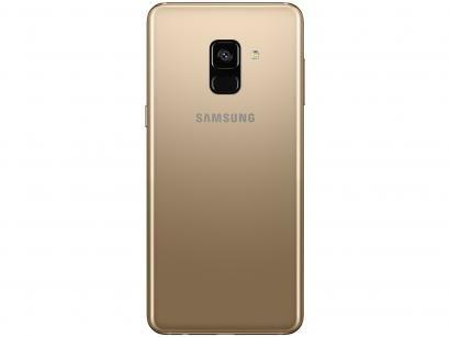 Smartphone Samsung Galaxy A8 64GB Dourado - Dual Chip 4G Câm. 16MP + Selfie...