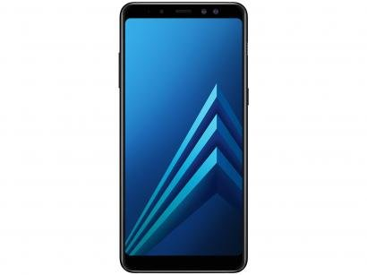 Smartphone Samsung Galaxy A8+ 64GB Preto - Dual Chip 4G Câm. 16MP + Selfie 16MP...