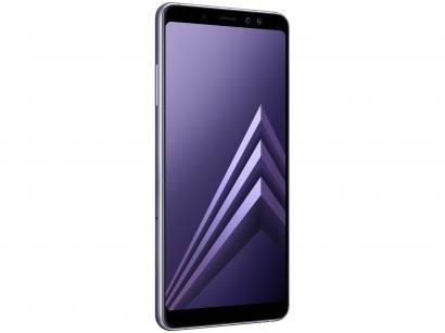 Smartphone Samsung Galaxy A8+ 64GB Ametista - Dual Chip 4G Câm. 16MP + Selfie...