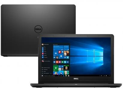 Notebook Dell Inspiron i15-3567-A10 Intel Core i3 - 4GB 1TB LED 15,6 Windows 10