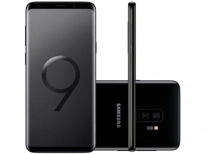 Smartphone Samsung Galaxy S9+ 128GB Preto 4G - SM-GCâm. 12MP + Selfie 8MP Tela...