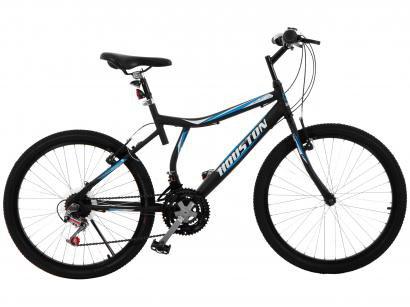 Bicicleta Houston Atlantis Land Aro 24 - 21 Marchas Freio V-Brake
