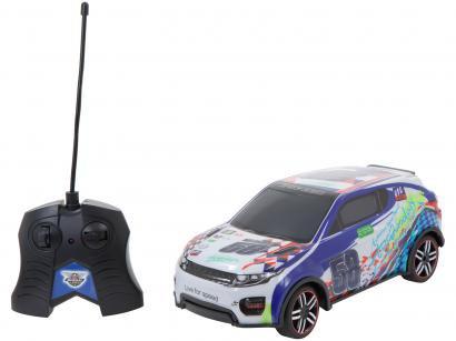 Carrinho de Controle Remoto Speed Car - CHT2497807C-C 7 Funções Alcance 7 Metros
