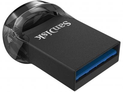 Pen Drive 16GB SanDisk Ultra Fit - USB 3.1 Até 15x Mais Rápido