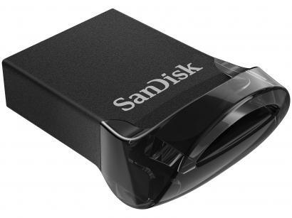 Pen Drive 128GB SanDisk Ultra Fit - USB 3.1 Até 15x Mais Rápido