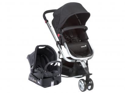 Carrinho de Bebê com Bebê Conforto Safety 1st - Travel System Mobi TS 0 a 15kg