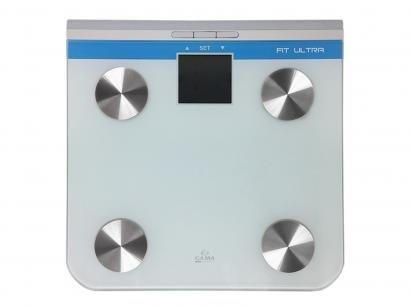 Balança Digital até 150kg com Medidor de Gordura - Medição de Água Ga.Ma Italy...