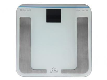 Balança Digital Portátil até 150kg Ga.Ma Italy - Visor LCD Linea Salute Fit Tech