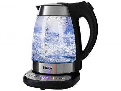 Chaleira Elétrica Philco Glass PCHD 1,7L - com Display Digital