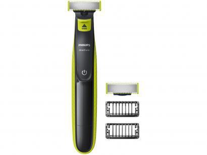 Aparelho de Barbear/Barbeador Philips - QP2522/10 OneBlade com Lâmina Extra